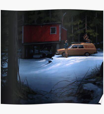 Skogverkstaden Poster