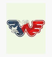 Texas Flying W Photographic Print