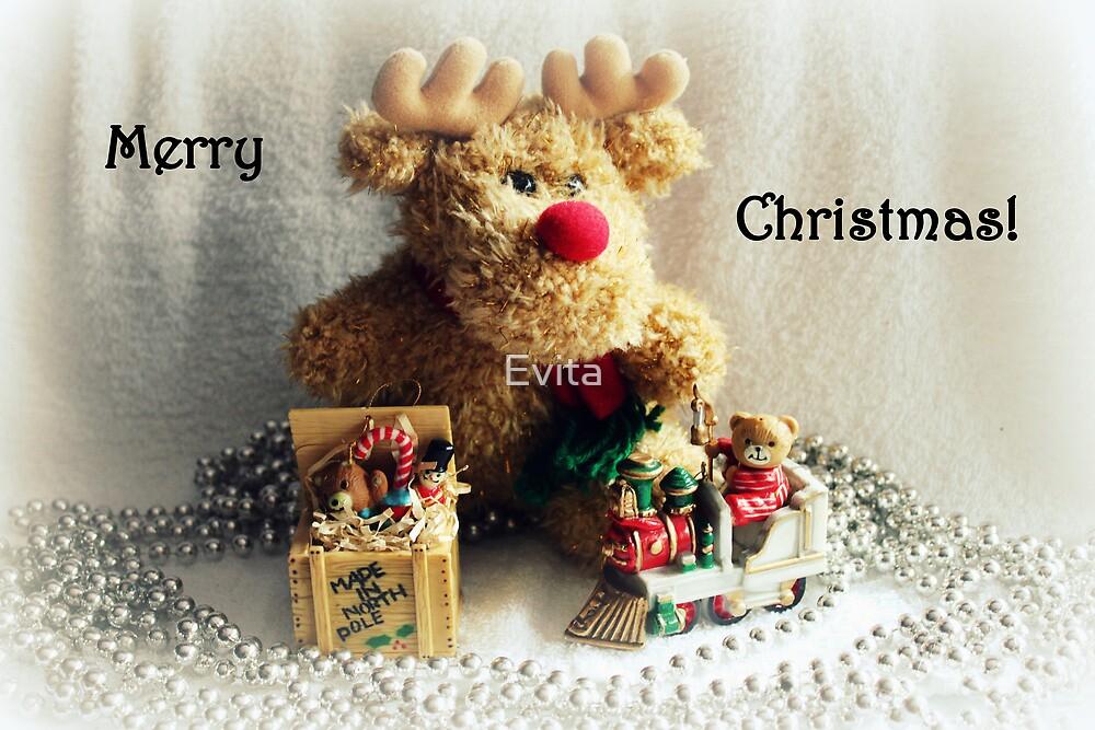 Merry Christmas - Card Series - by Evita