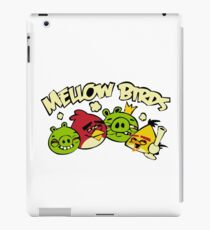 Mellow birds funny nerd geek geeky iPad Case/Skin