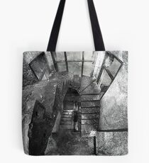 Upstairs/Downstairs Tote Bag