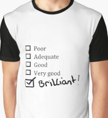 Brilliant Tick Box Graphic T-Shirt