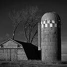 North Dakota Study in B&W IV by Nate Welk