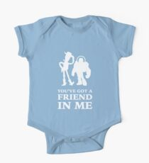 Toy Story Woody and Buzz Lightyear You've Got A Friend In Me One Piece - Short Sleeve