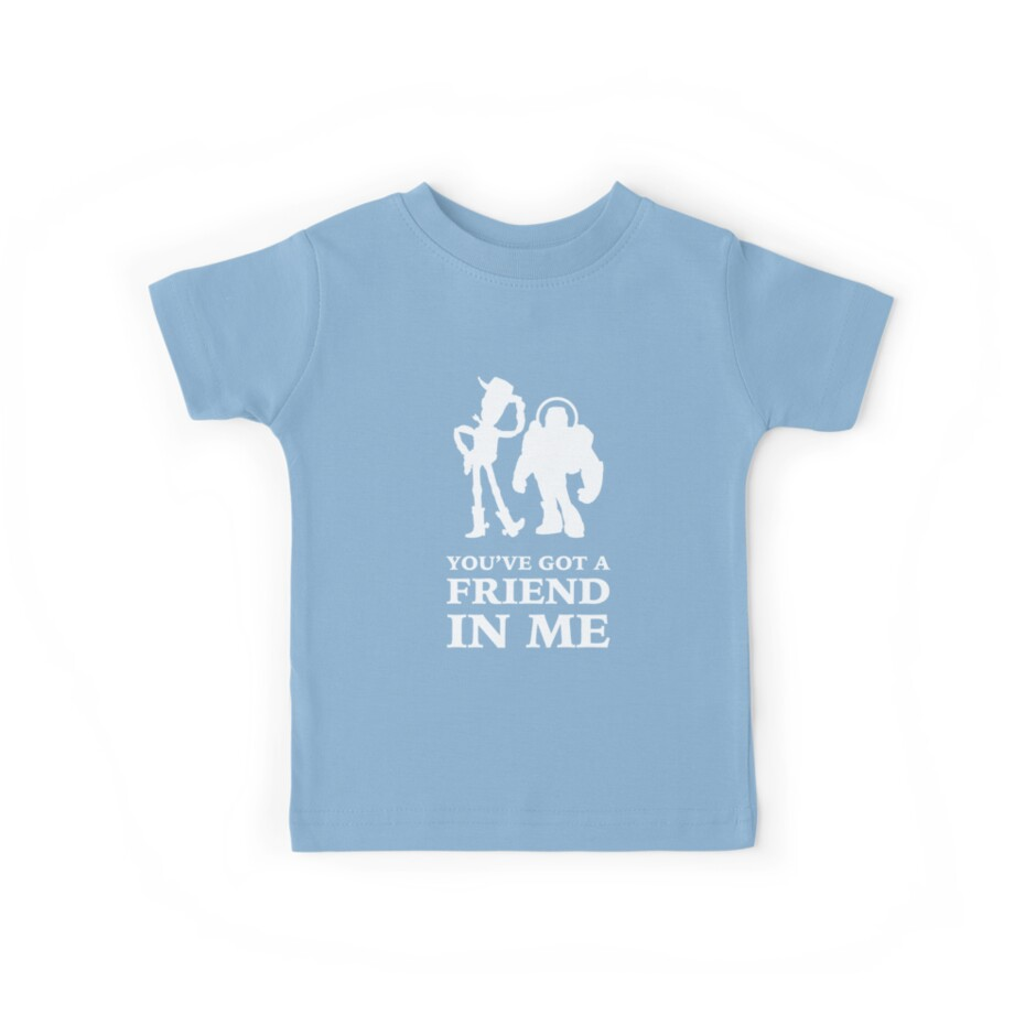 9b06fd16b Camisetas para niños «Toy Story Woody y Buzz Lightyear Tienes un ...