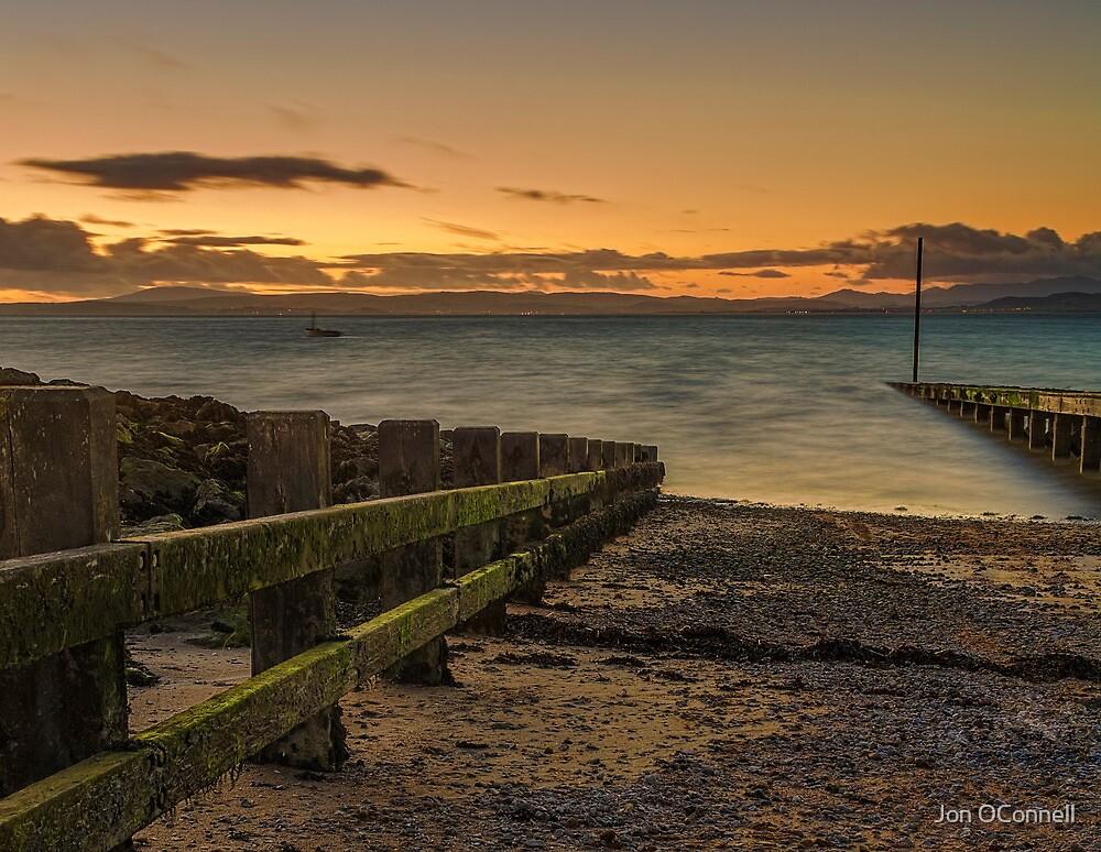 Morcombe Bay Sunset by Jon OConnell