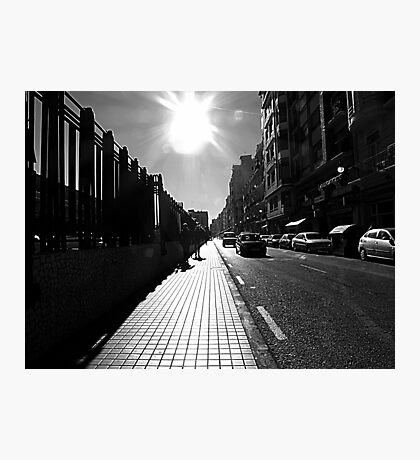 Early Winter Light In Valencia Photographic Print