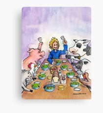 Vegan Thanksgiving Canvas Print