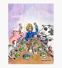 Vegan Thanksgiving Photographic Print