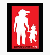 Strange Candy Art Photographic Print