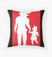 Strange Candy Art Throw Pillow