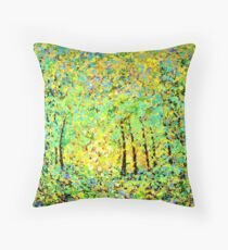 Fundamental Elements of Light by John E Metcalfe Throw Pillow