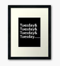 Infinite Tuesdays Framed Print