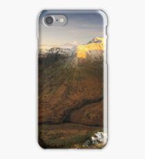 View from Meall Mòr iPhone Case/Skin