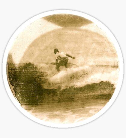 Surfer - Antiqued Sticker