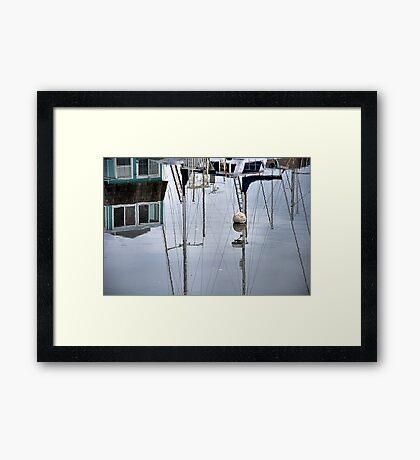 Do Not Adjust Your Set... Framed Print