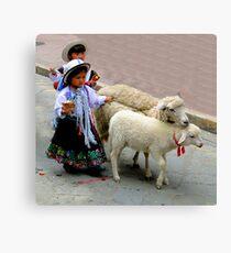 Cuenca Kids 233 Canvas Print
