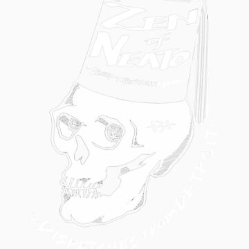 ZON Dispatches (white ink) by brichar9