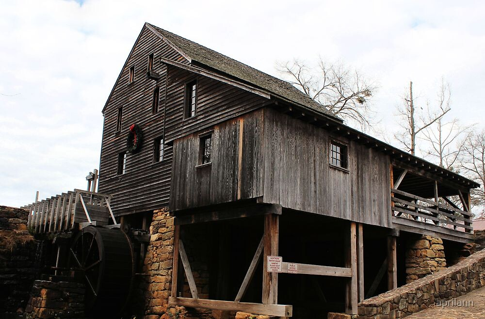 The Old Mill by aprilann