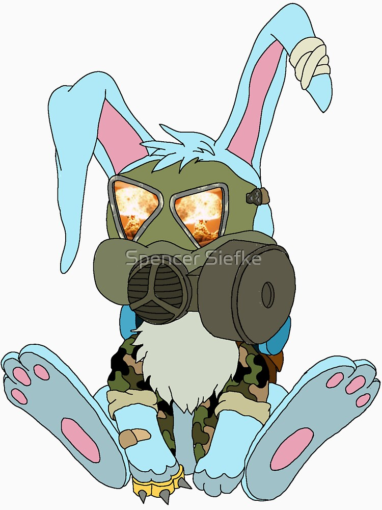 Apocalypse Bunny  by Reliantbunion72