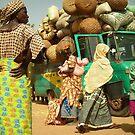 Djenne Market by Edward Perry