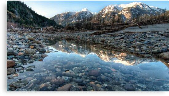 Mountain Reflection by James Wheeler