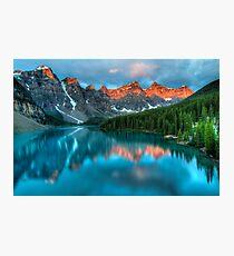Moraine Lake Sunrise Photographic Print