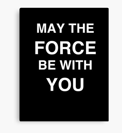 FORCE Canvas Print