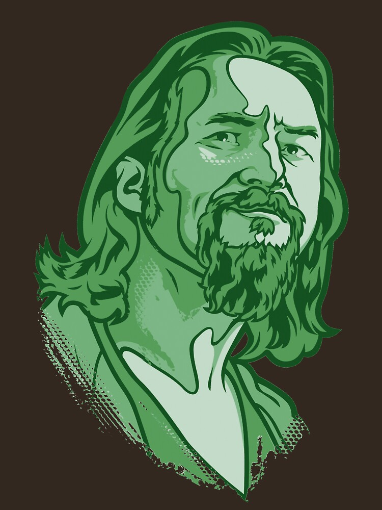 The Dude green by Cloxboy