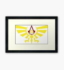 Brotherhood of the the Ocarina Framed Print