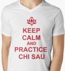 Chi Sau (Sticky Hands) Men's V-Neck T-Shirt