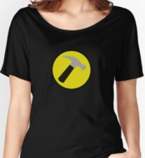 Instant Captain Hammer Costume Women's Relaxed Fit T-Shirt
