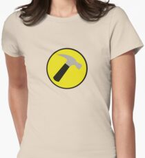 Instant Captain Hammer Costume Womens Fitted T-Shirt