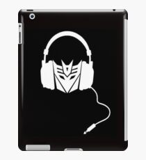 Dj Decepticon iPad Case/Skin