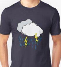 Cartoon Clouds Unisex T-Shirt