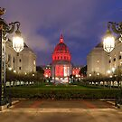 San Francisco Night Scene by Nickolay Stanev
