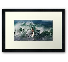 The Art Of Surfing In Hawaii 13 Framed Print