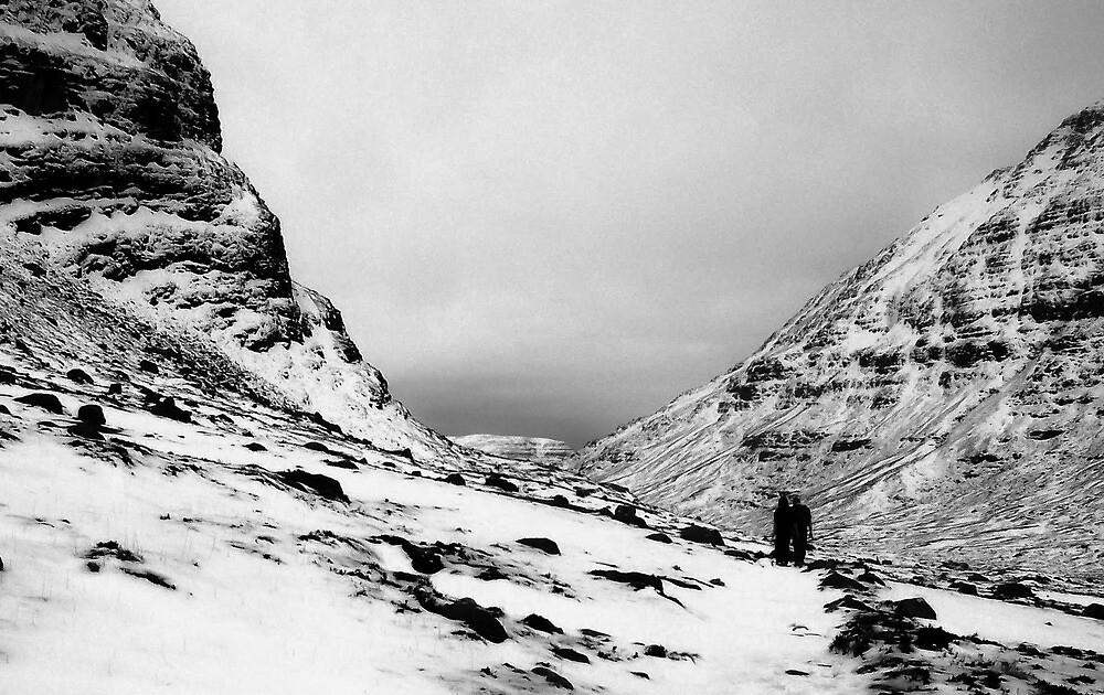 Black Valley in White by JTCpictures