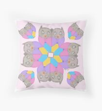 Owl be Seeing You – Art by Blythe Ayne Throw Pillow