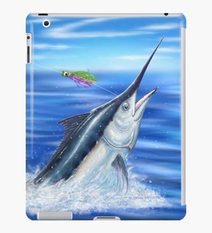 Black Marlin iPad Case/Skin