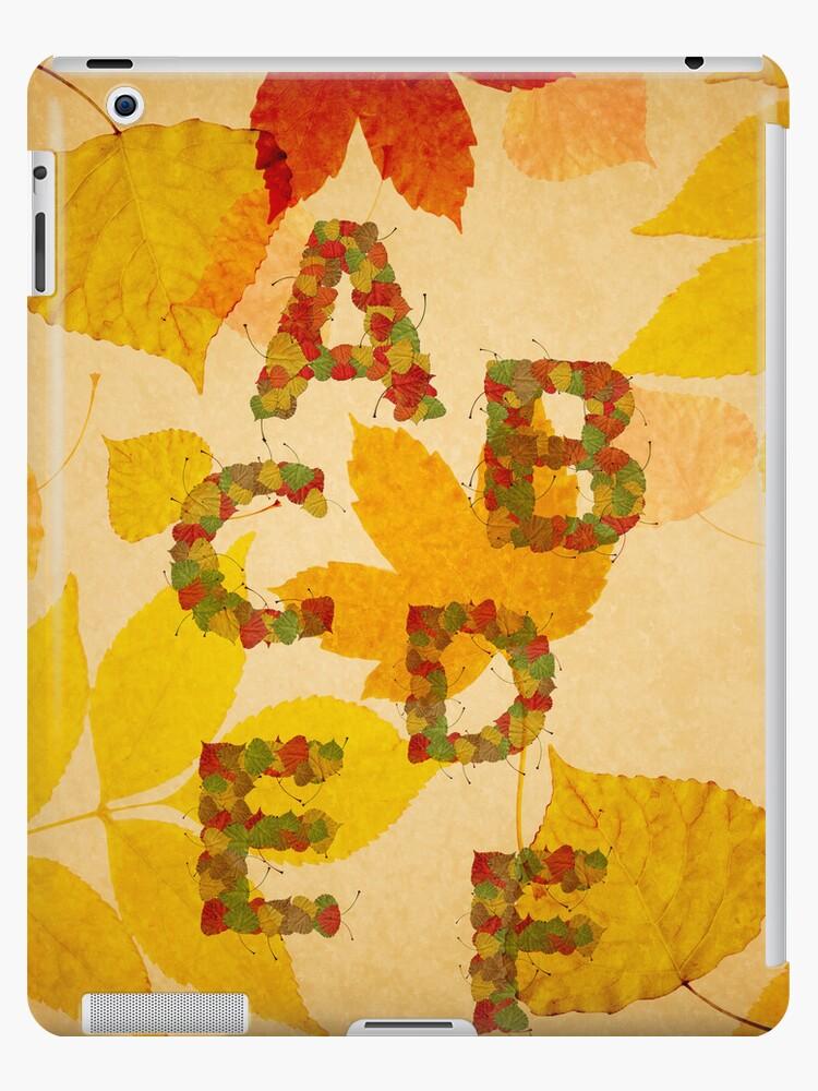 Autumn alphabet by rafo