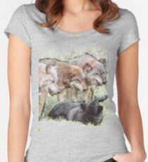 The Pack Women's Fitted Scoop T-Shirt