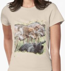 The Pack Women's Fitted T-Shirt