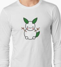 Snowman Pikachu Pokemon Card Long Sleeve T-Shirt