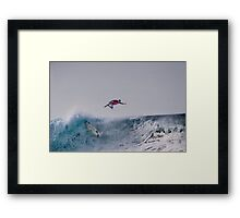 The Art Of Surfing In Hawaii 15 Framed Print