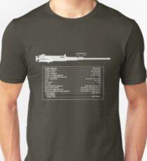 TM M2 Machine Gun, Browning .50 Caliber Machine Gun Unisex T-Shirt