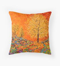 The Guardian by Florida Artist John E Metcalfe Throw Pillow