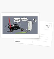 I am your father! Postcards