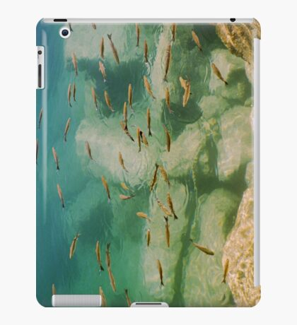 Little Fish in green Sea iPad Case/Skin