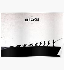 99 Steps of Progress - Life cycle Poster